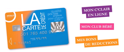 services carte de crédit Reglo Finance