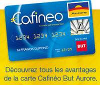 carte cafineo aurore but