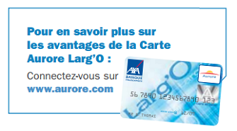 contact carte aurore largo