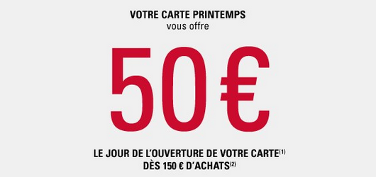 avantages carte printemps finaref