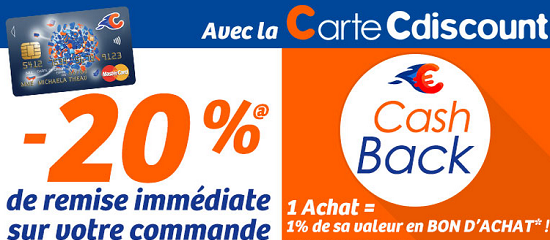 CARTE C DISCOUNT BANQUE CASINO