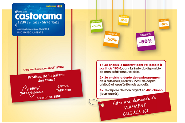 Carte fidelite castorama interesting avec castorama for Castorama code avantage