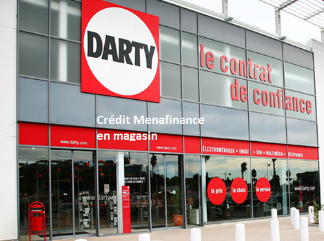 magasin darty crédit menafinance