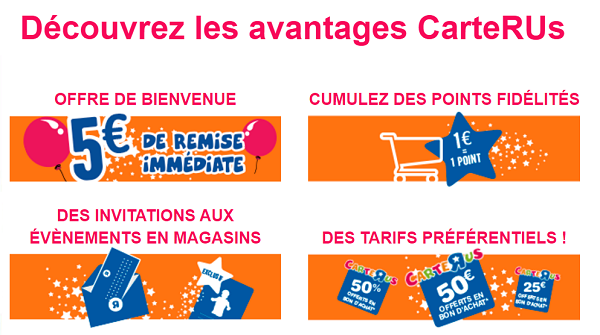 Avantages Carte R Us