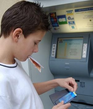 carte bancaire adolescent