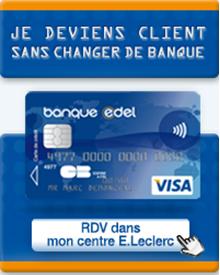 carte bleue visa edel +