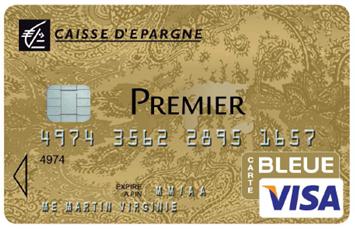 carte visa premier caisse d'épargne personnalisée