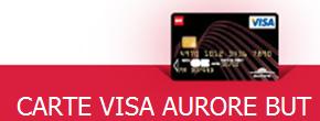 carte visa aurore but