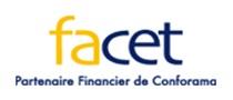 logo facet conforama crédit