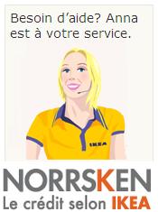 service client contact Norrsken crédit