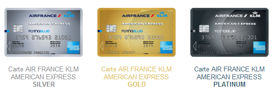 carte air france klm american express