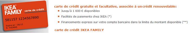 Carte Ikea Family Paiement Credit Norrsken Avantages Ikea