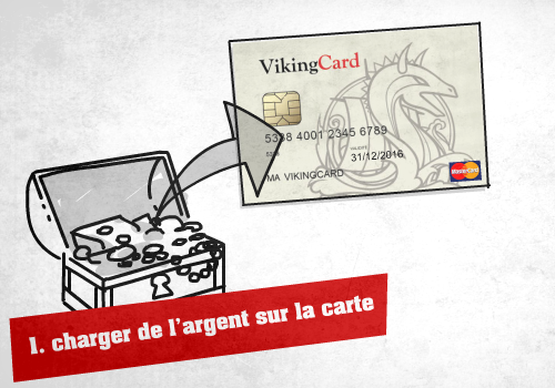 chargement carte vikingcard