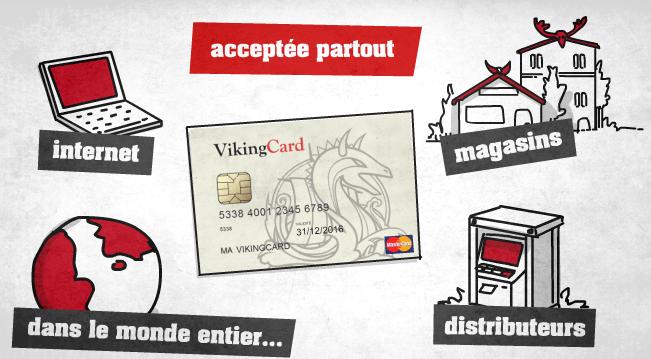 paiement  vikingcard mastercard