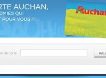 activation carte auchan waaoh en ligne