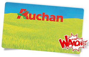 carte waaoh auchan