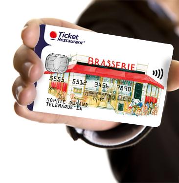La carte de paiement Edenred vous permet de payer vos repas le midi à l'euro près.