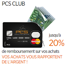 carte pcs marstercard club premium