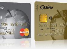 carte Casino Classic et Gold MasterCard