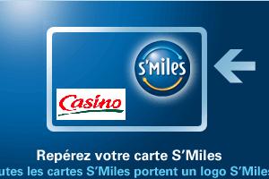 carte smiles casino géant cafétéria
