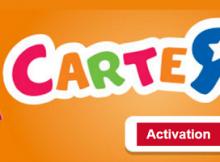 activation carte R Us en ligne