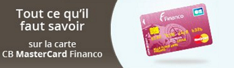 CARTE MASTERCARD FINANCO