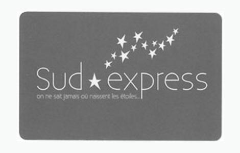 carte de fidélité Sud Express