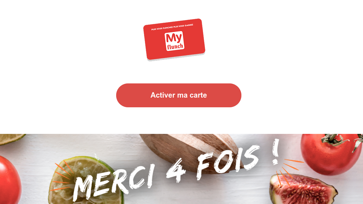 activation carte myflunch