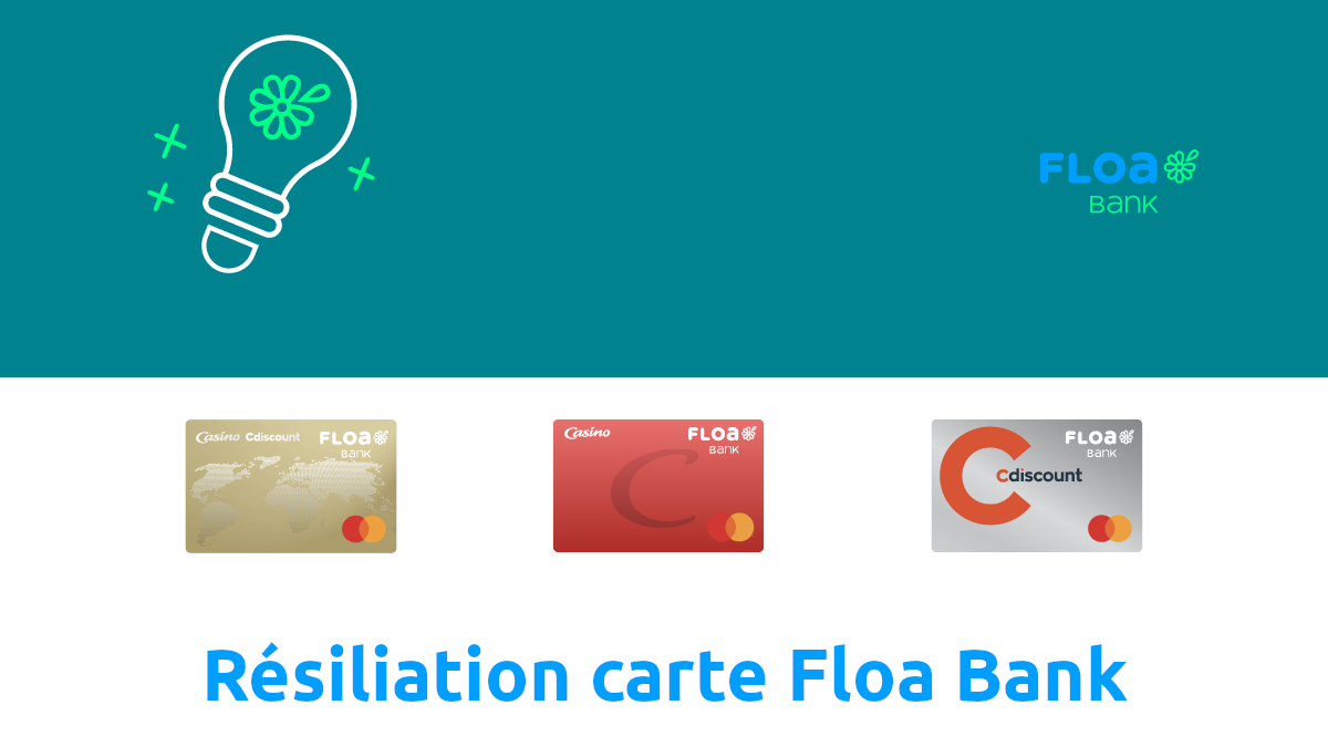 résiliation carte floa bank