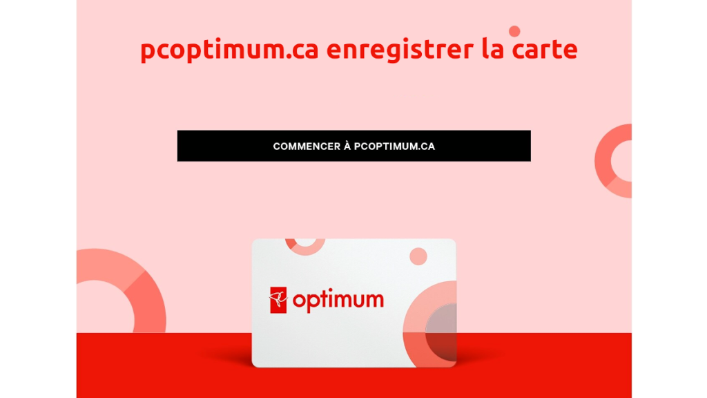 pcoptimum.ca enregistrer la carte
