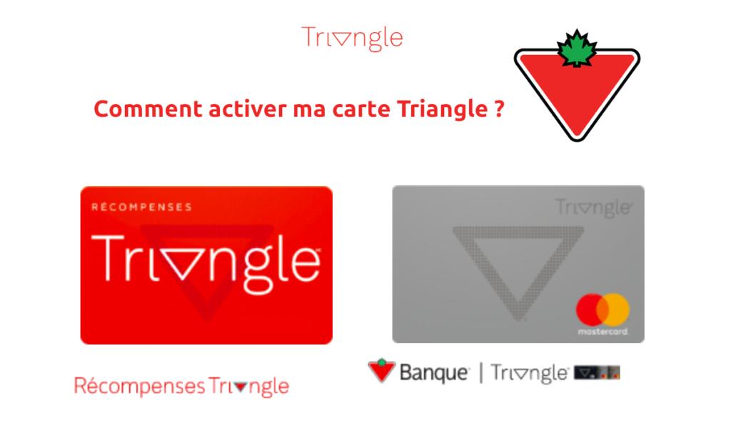 activer carte Triangle Récompenses