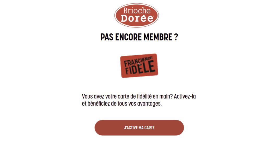briochedoree.fr Activer ma carte