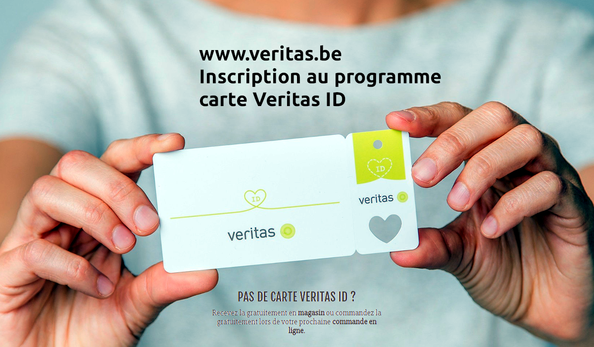 www.veritas.be inscription carte Veritas ID